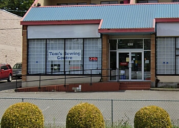 Surrey sewing machine store Tom's Sewing Centre