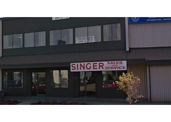 Burnaby sewing machine store Tom's sewing Singer Dealer
