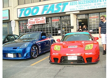 Mississauga auto parts store Too Fast Motors