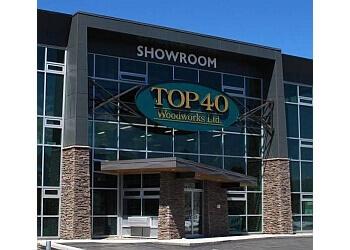 Kamloops custom cabinet Top 40 Woodworks