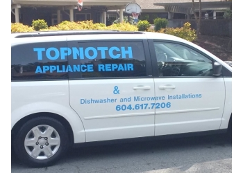 Surrey appliance repair service Top Notch Appliance Repair