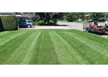 Sault Ste Marie lawn care service Topaz Property Services Ltd.