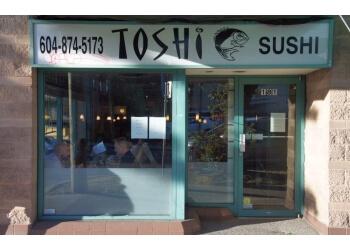 Vancouver sushi Toshi Sushi
