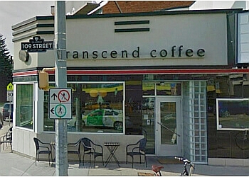 Edmonton cafe Transcend Coffee