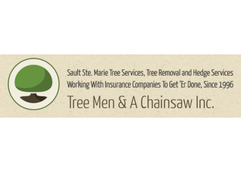 Sault Ste Marie tree service Tree Men & A Chainsaw Inc.