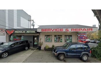 Vancouver car repair shop Tremblay Motors Ltd.
