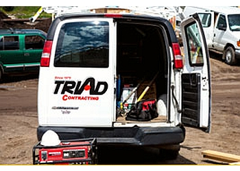 Thunder Bay roofing contractor Triad Contracting