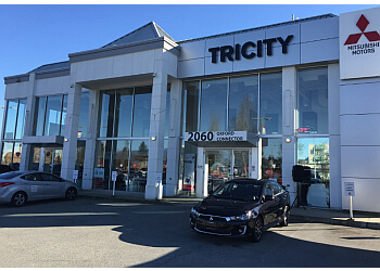 Port Coquitlam car dealership Tricity Mitsubishi