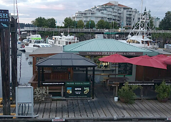 Nanaimo fish and chip Trollers Fish & Chips