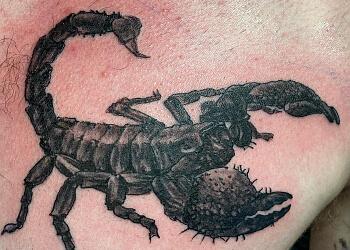 St Johns tattoo shop Trouble Bound Studio