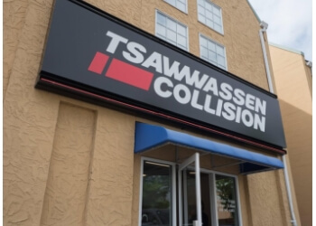 Delta auto body shop Tsawwassen Collision