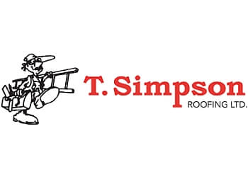Barrie roofing contractor T simpson roofing Ltd.
