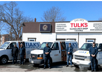 St Johns locksmith Tulk's Glass & Key Shop Ltd.