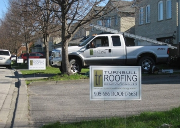 Oshawa roofing contractor Turnbull Roofing & Renovations Ltd.