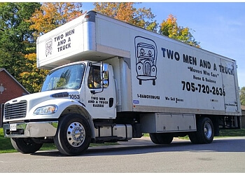 Barrie moving company Two Men And A Truck