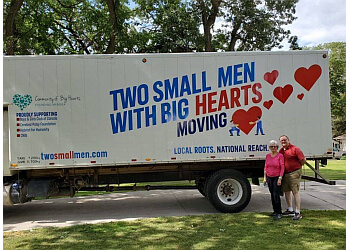 Calgary moving company Two Small Men With Big Hearts Moving Co.