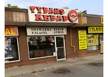 Oshawa mediterranean restaurant Tybahs Kebab