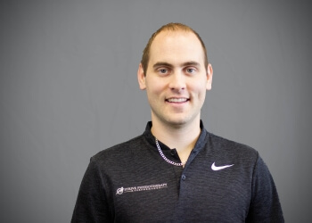 Kitchener physical therapist Tyler Allen, PT, BSc, MSc (PT)