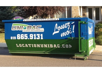 Gatineau junk removal Unibac Inc.