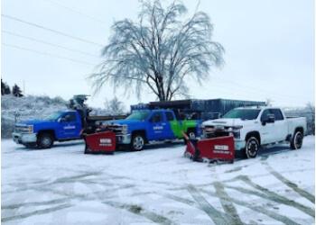 Hamilton snow removal Unique Landscape Services