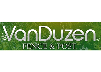 Welland fencing contractor VanDuzen Fence & Post
