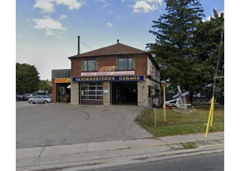 Oshawa car repair shop Vanderheyden's Garage