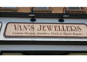 Orangeville jewelry Van's Jewellers