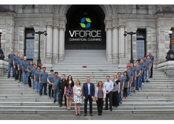 Victoria commercial cleaning service Vforce Commercial Cleaning Inc.