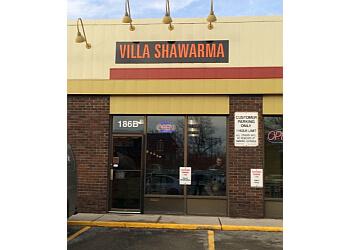 Stratford mediterranean restaurant Villa Shawarma