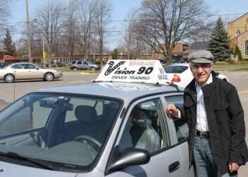 St Catharines driving school Vision 90 Driver Training