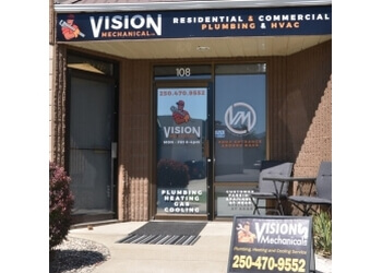 Kelowna plumber Vision Mechanical Ltd.