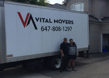Newmarket moving company Vital Movers