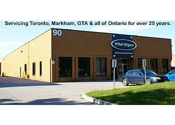 Markham sign company Vital Signs