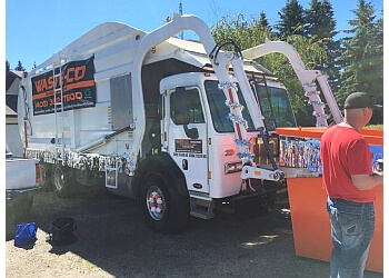 Red Deer junk removal WASTE CO DISPOSAL SYSTEMS INC.