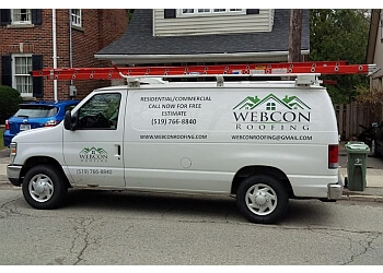 Guelph roofing contractor WEBCON ROOFING