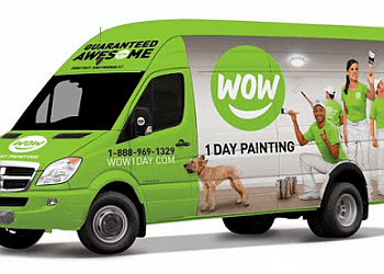 Toronto painter WOW 1 DAY PAINTING