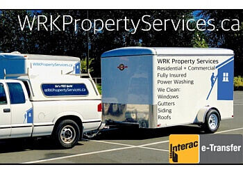 Chilliwack window cleaner WRK Property Services