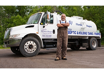 Peterborough septic tank service Wally's Flower Wagon Disposals
