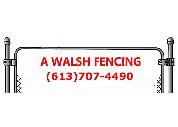Belleville fencing contractor Walsh Fencing