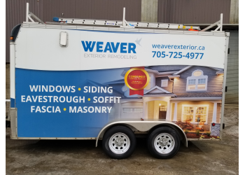Barrie window company Weaver Exterior Remodeling