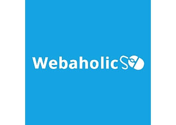 London web designer Webaholics