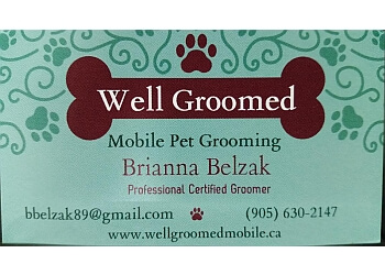 Brantford pet grooming Well Groomed Mobile