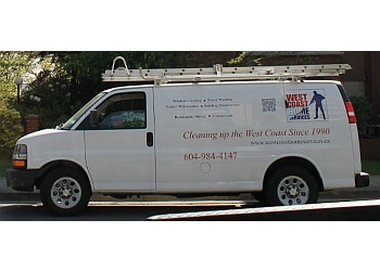 North Vancouver window cleaner West Coast Home Services