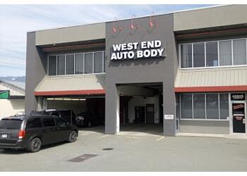 Chilliwack auto body shop West End Auto Body