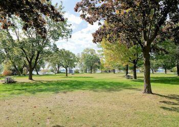 Belleville public park West Zwick's Island Park