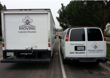 Port Coquitlam moving company Western Express Moving Ltd