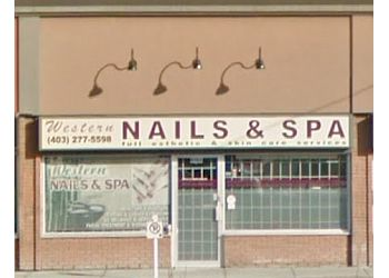 Calgary nail salon Western Nails & Spa