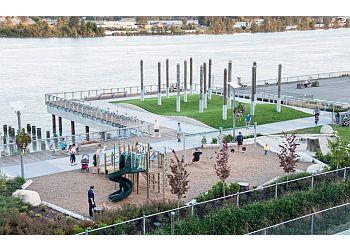 New Westminster public park Westminster Pier Park
