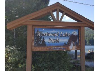 Nanaimo public park Westwood Lake Park
