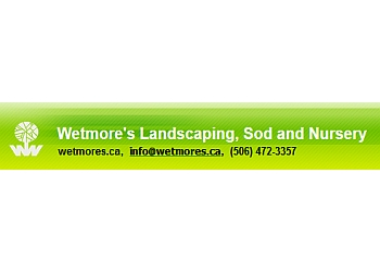 Fredericton landscaping company Wetmore's Landscaping, Sod and Nursery Ltd